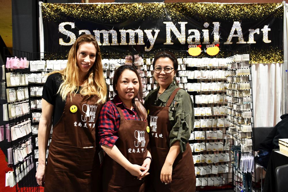 <p>Sammy Nail Art Team</p>