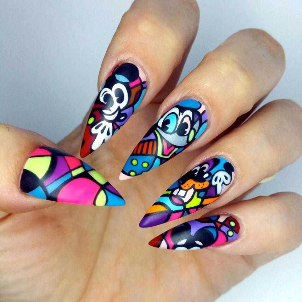 10 Times #NTNASarah Slayed Us With Her Nail Art