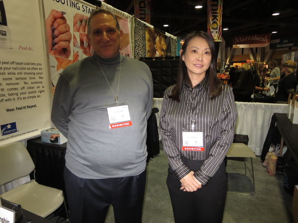 <p>Shooting Star's Jim Vouvakis and Yumi Takahash</p>
