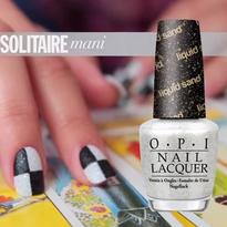 OPI Bond Girls: Solitaire Nail Design Tutorial