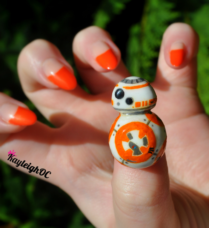 "<p>Sphero BB-8 nails by <a href=""https://www.facebook.com/KayleighOCNailArt"">Kayleigh O'Connor</a>, Birmingham, U.K.</p>"
