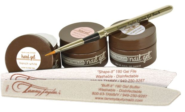 "<p>The <a href=""http://www.tammytaylornails.com/"">Tammy Taylor</a> Hard Gel System is a three-in-one gel, which makes it very simple to use. With dual-cure technology, it can be used in both LED and UV lamp systems and the extreme strength and durability makes it perfect for fill-in maintenance procedures.</p>"