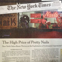 NAILS Magazine Shares Outrage Over Labor Abuses in New York Salons