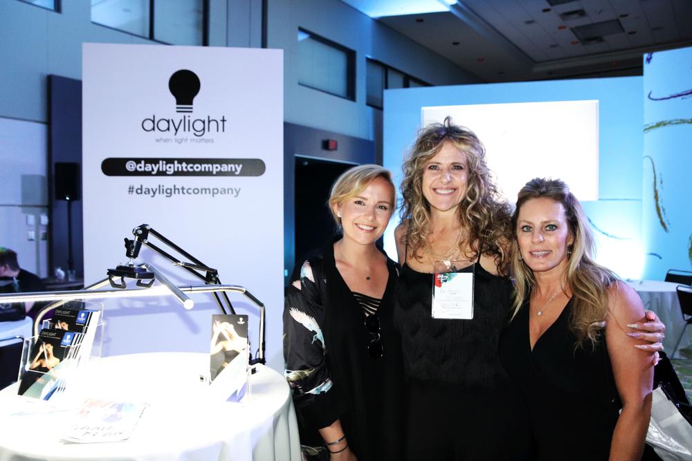 <p>Daylight's Kristie Golla, Lori Anastros, and Dina</p>