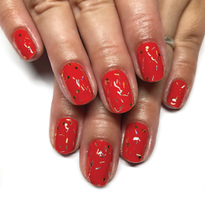 Add Sparkle With Toppers Gel-Polish Top Coat