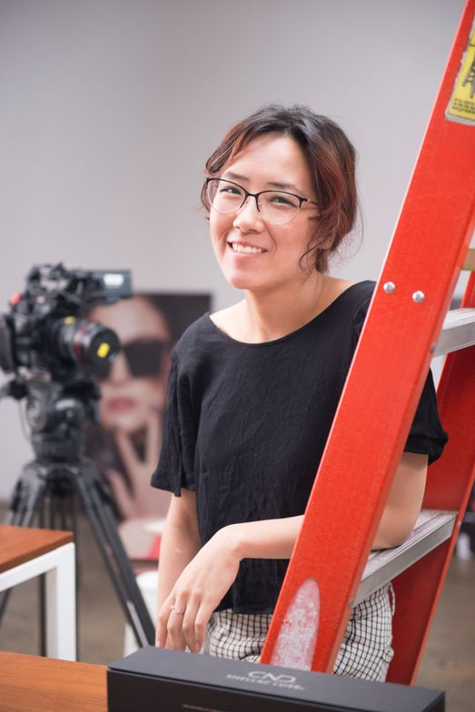 <p>Art director Yuiko Sugino</p>