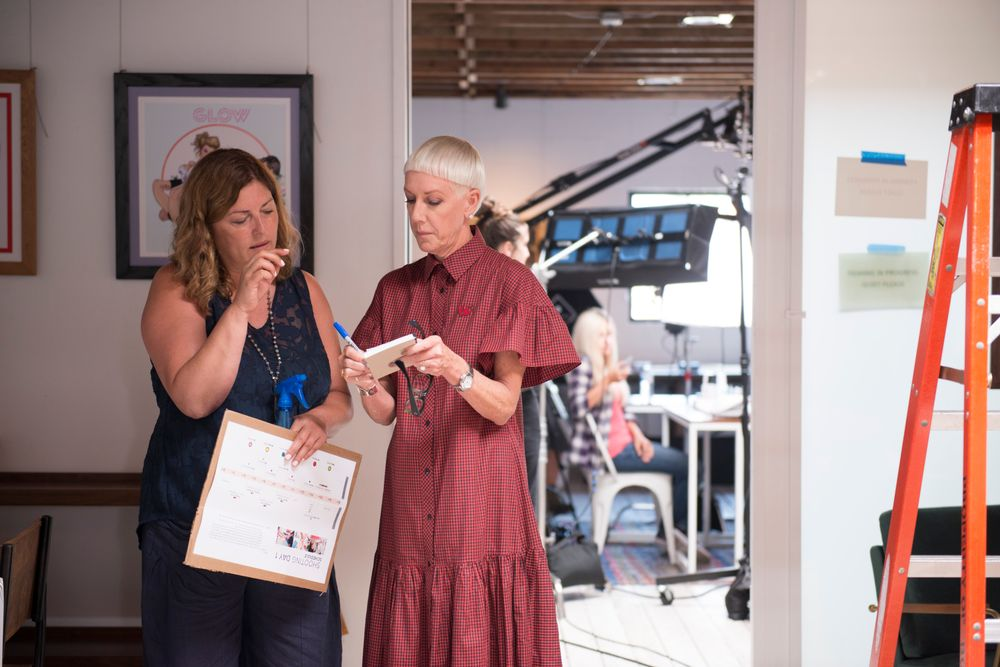 <p>NAILS publisher Michelle Mullen and CND style director and co-founder Jan Arnold</p>