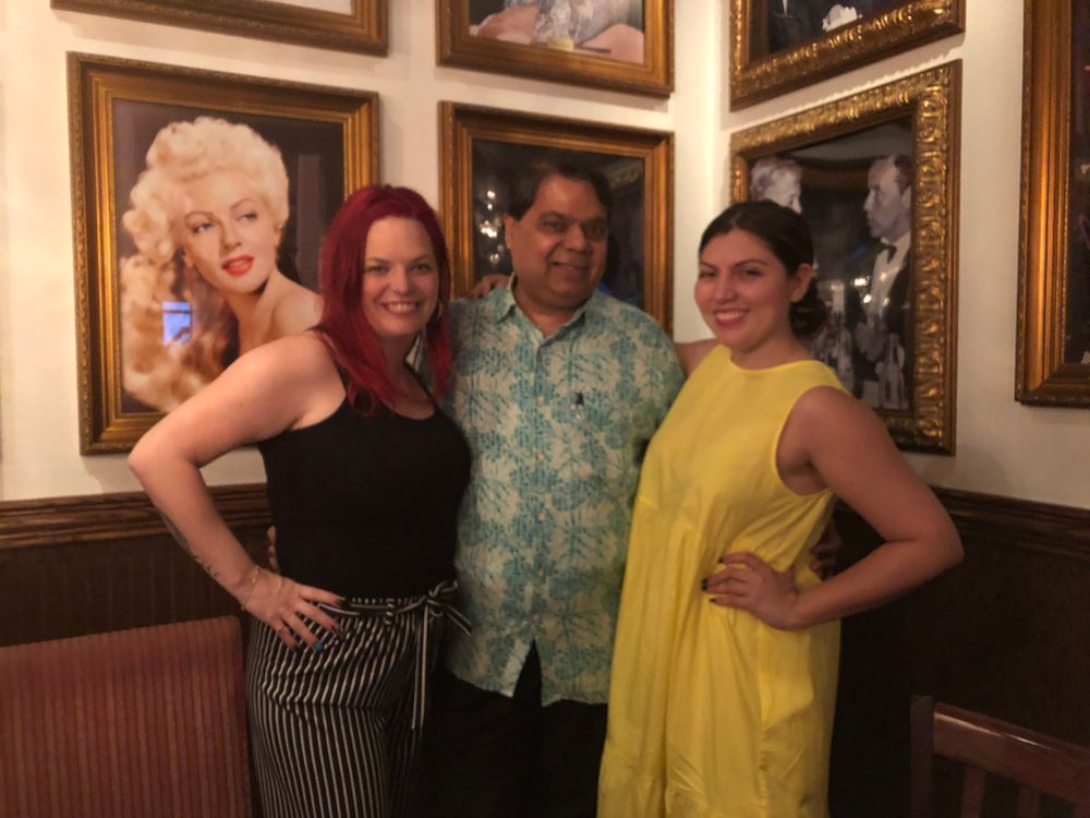 <p>Valerie Ducharme, ADI's Ron Kothari, and NAILS Beth Livesay</p>