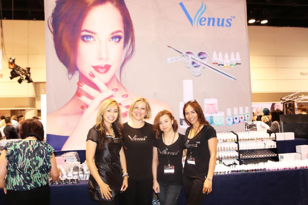 <p>The team at Venus</p>