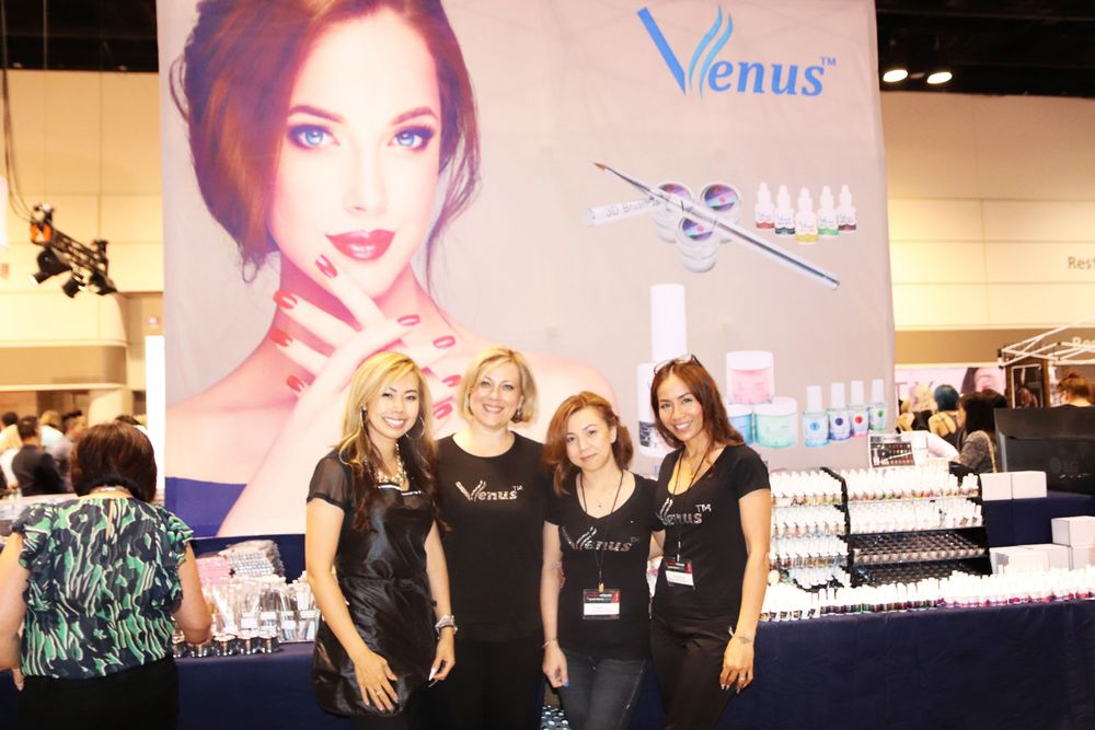 <p>The team at Venus</p>