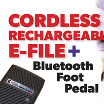How to Use Kupa's Cordless Rechargeable E-File and Bluetooth Foot Pedal