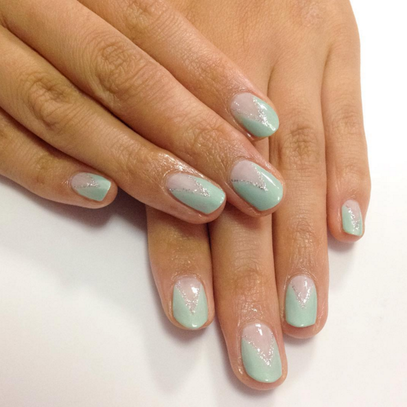 <p>Nails by Sigourney Nu&ntilde;ez for NAILS' assistant art director Yuiko Sugino&nbsp;</p>