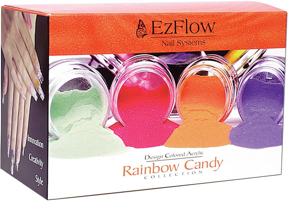 <p><strong>2004 Favorite Design/Colored Acrylic: EZ Flow Nail Systems Design Colored Acrylics</strong></p> <p>2nd: Creative Nail Design Mosaic Powder Kit; 3rd: Creative Nail Design Metro Powders; 4th: Strata Nail Foundation Colored Acrylics; 5th: INM Powder Paints Tropical Collection</p>