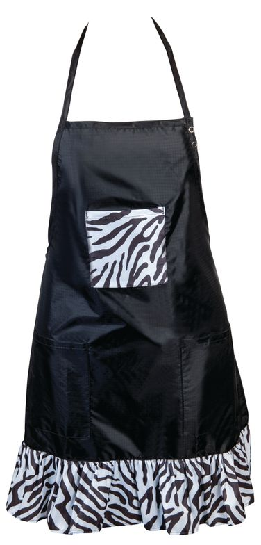 """<p><a href=""""http://www.stylistwear.com/"""">Stylist Wear&rsquo;</a>s waterproof and chemical-proof bib aprons are made from ripstop nylon to prevent tears and give your garment lasting life. Adjustable neck straps allow you to choose the perfect bib height. One size fits most.</p>"""