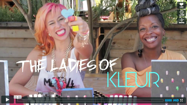 Nail Art and the Ladies of Kleur