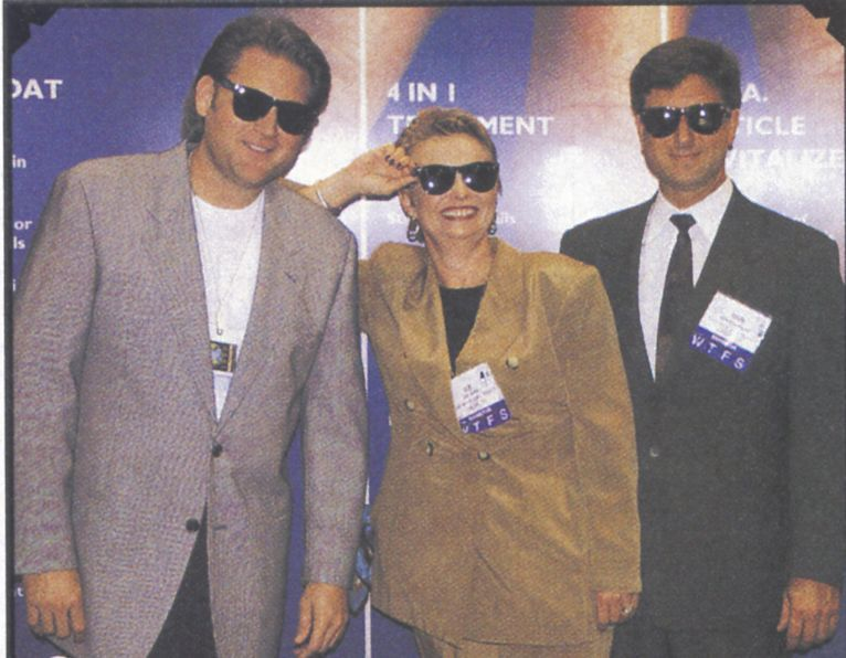 <p>With their products in contention for a spot on <em>Allure&rsquo;s</em> 100 Best list, Poshe&rsquo;s Scott Albers, Sue Irwin, and Dan Beaurline were incognito cool in their &ldquo;Poshades.&rdquo;</p>