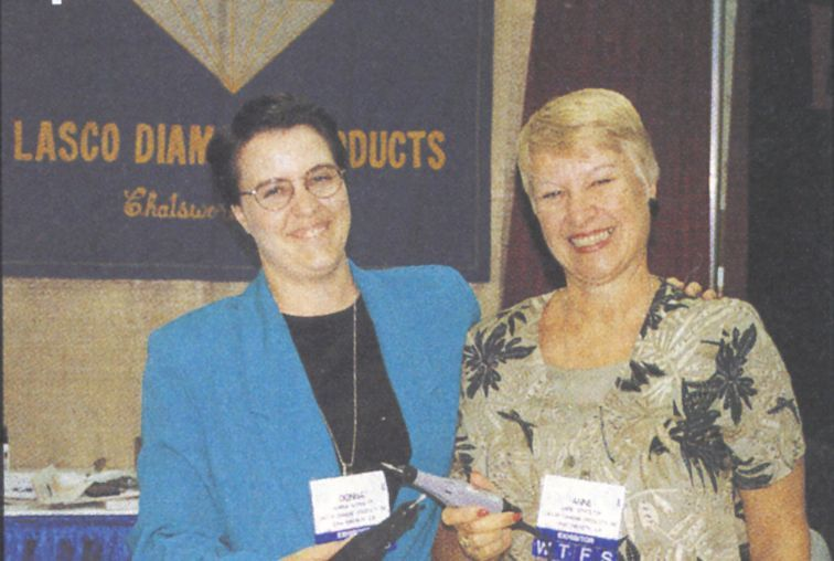 <p>The mother-daughter team of Donna and Anne Lasco provides distributors with everything they need to sell Lasco Diamond Products&rsquo; line of Micro Delux machines and accessories.</p>