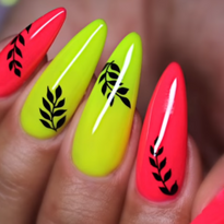 Bright Summer Nail Art Tutorial