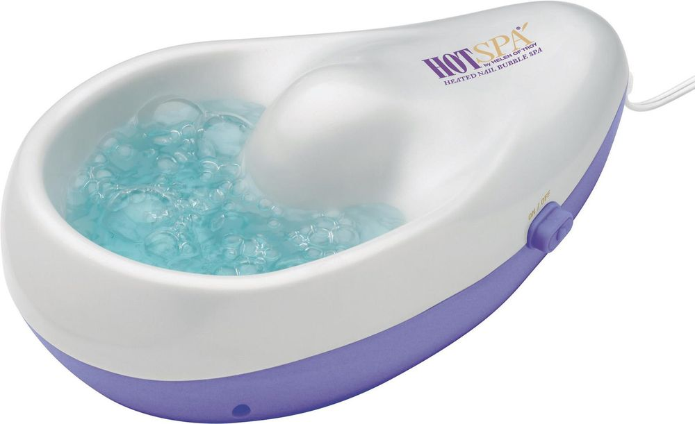 <p><strong>Helen of Troy:&nbsp;</strong>Heated Nail Bubble Spa</p>