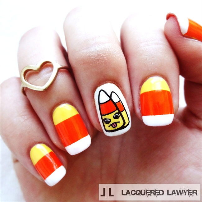 17 Manicures for National Candy Corn Day
