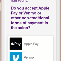 Crowdsourcing: Do You Accept Apple Pay or Venmo or Other Non-Traditional Forms of Payment in the...