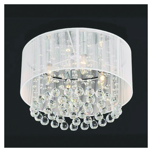 <p>You can add instant glamour to your salon by installing a chandelier. Whether you buy a few or &shy;invest in one showstopper, this fixture can brighten up anyone&rsquo;s day at the salon. Rakuten.com lists this classic chandelier on sale for $116.99.<br /><br /></p>