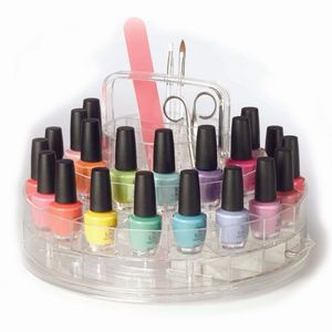 Clearly Chic Polish Storage