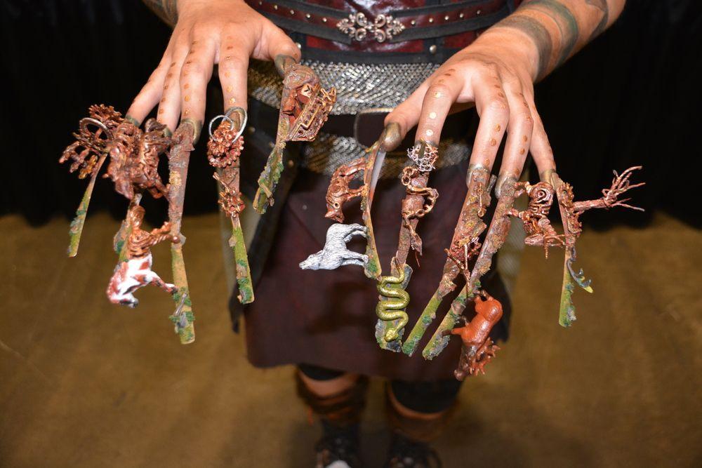 <p>Fantasy nails by Aigul Fritzke</p>