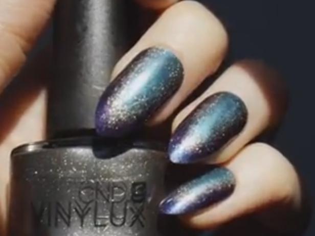 CND Nightspell Nocturnal Sky Nail Art Tutorial