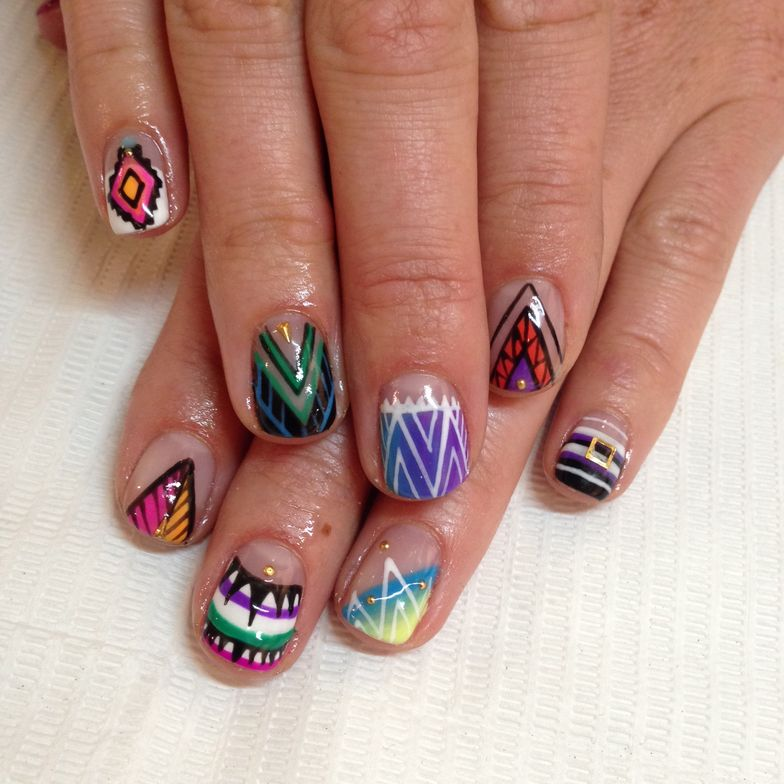 <p>Mia Rubie, Sparkle SF, San Franciso, @superflynails</p>
