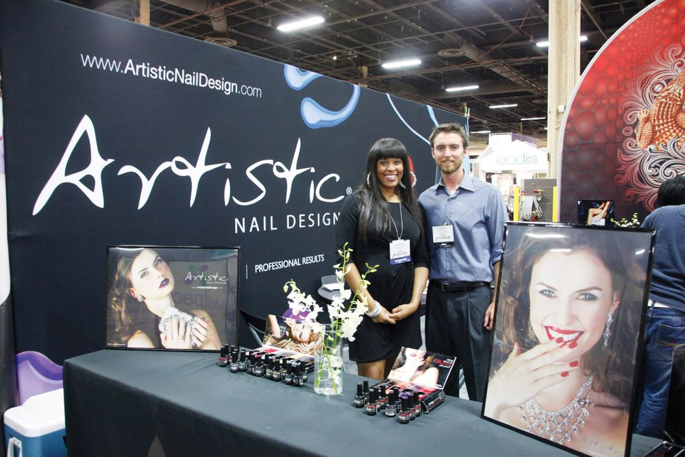 <p>Artistic Nail Design&rsquo;s April Jones met with Tim Crowley to talk about Artistic&rsquo;s new Colour Gloss soak-off gel colors.</p>