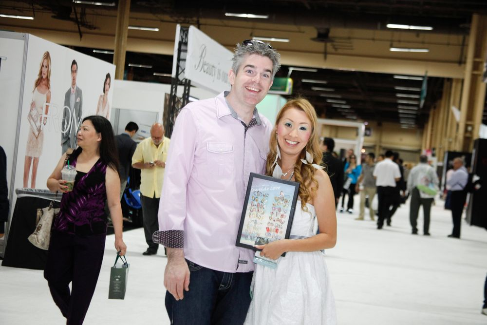 <p>Spotted on the show floor: NailGrafx husband and wife duo Pat and Mami Griffin.</p>