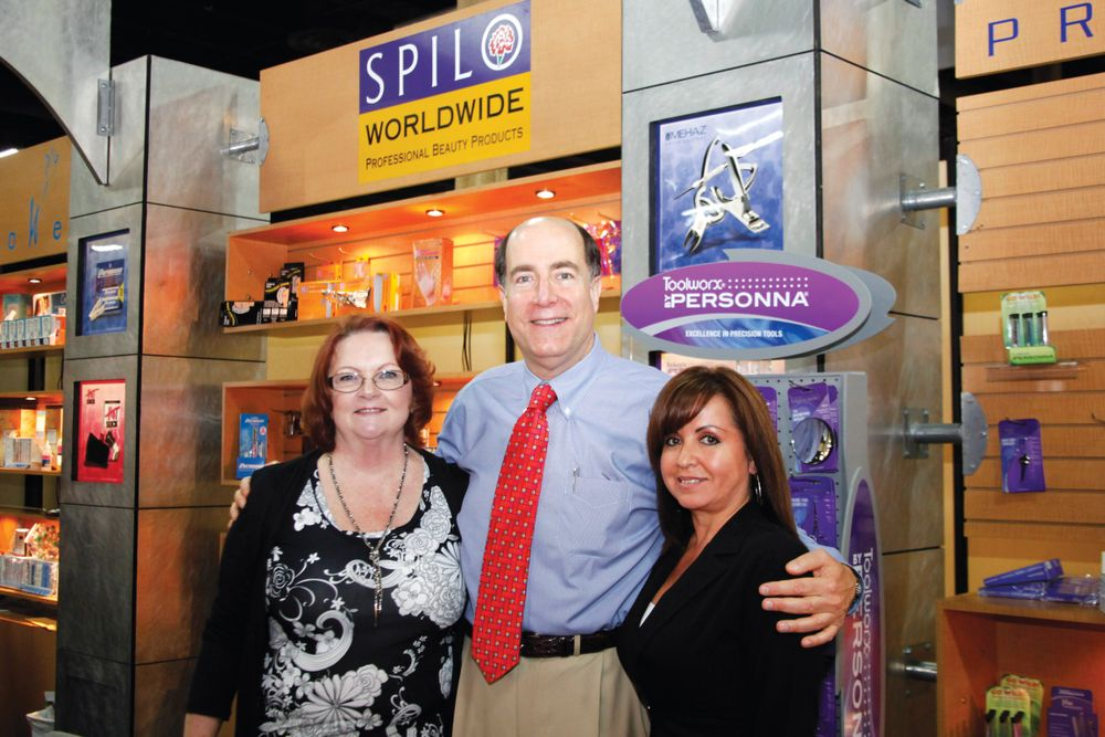 <p>Sally Ferguson, Marc Spilo, and Maria Orona celebrated Spilo Worldwide&rsquo;s 70th anniversary as a manufacturer and master distributor for the professional beauty industry.</p>