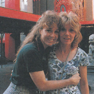Debra Schoaff's (right) first California experience worked out exactly how she planned it, from...