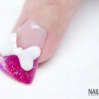 Troubleshooter: Acrylic Duck Nail with 3-D Bow