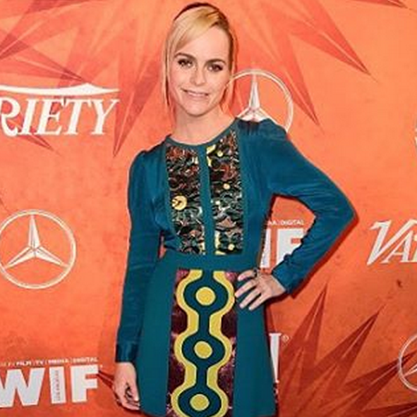 """<p>Nail tech <a href=""""http://www.nailsmag.com/search/?q=sabella+snyder"""" target=""""_blank"""">Sabella Snyder</a> used Caption Polish Ruff Tuff and In the Buff on Orange is the New Black's&nbsp;Taryn Manning. Image via @sweetbcreations.</p>"""