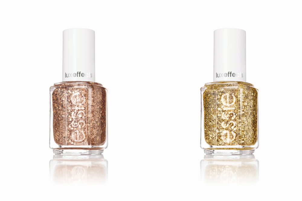 "<p>Essie's Luxeffects are multidimensional top coats featuring intricately elegant glitters. Easy to apply and easy to wear, they are designed to embellish any color, making a bejeweled nail look even more fun.</p> <p><a href=""http://www.essie.com"">www.essie.com</a></p>"