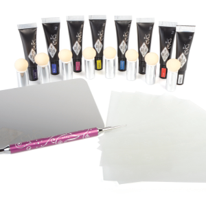Create Highly Pigmented Art With  Bio Sculpture Gel Kit
