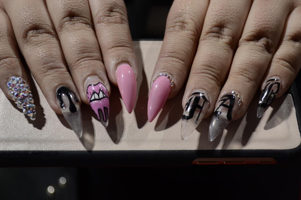 <p>Nails by Faviola Ramos.</p>
