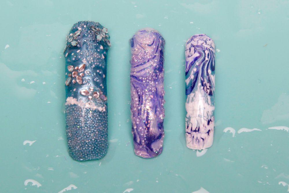 <p>Nails by Denise Delongewicz.&nbsp;</p>