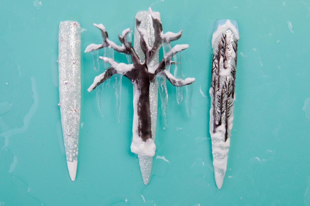 <p>Nails by Jeannette Vazquez Alfaro.&nbsp;</p>