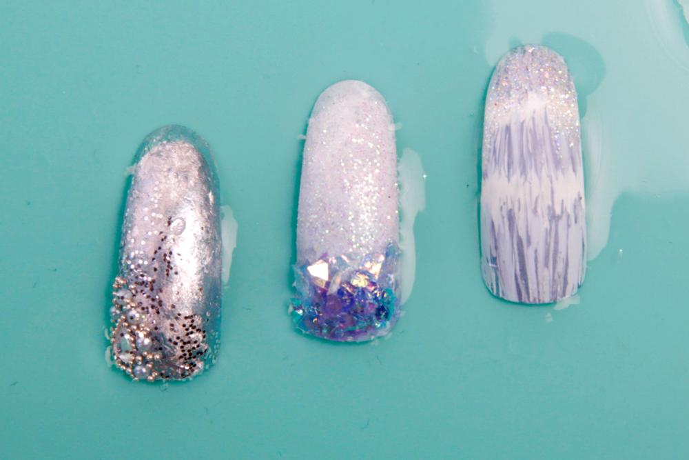 <p>Nails by Monica Hues.&nbsp;</p>