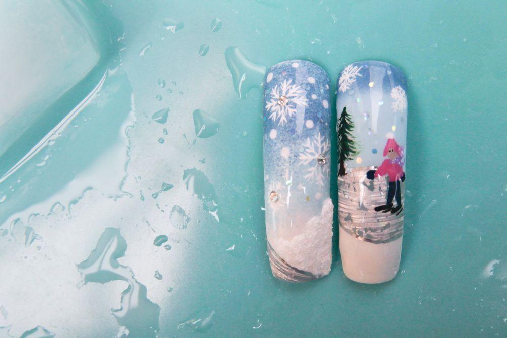 <p>Nails by Tina D. Boyd.&nbsp;</p>
