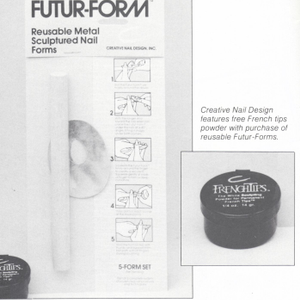 Creative Nail Design Offers Free Powder With Reusable Nail Forms