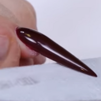How To Sculpt A Stiletto Nail With Gel