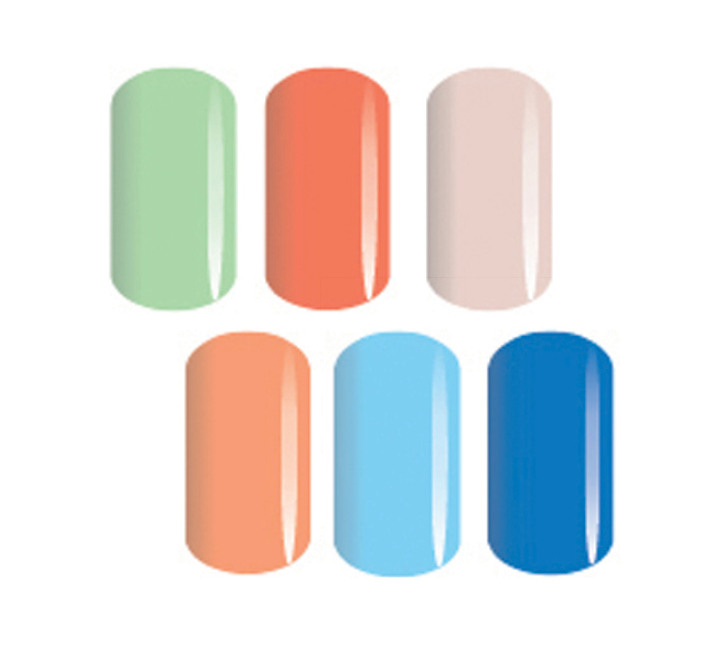 <p>Adding to a collection of 150 colors, Luxio by Akz&eacute;ntz Professional introduces six bright and punchy new shades for the spring and summer. The set includes Almondine, Pixie, Darling, Enlighten, Whimsical, and Fanfare.</p>