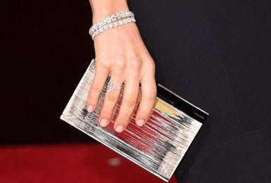 <p>Michelle Machado's mani for Sophia Bush at the Globes.</p>