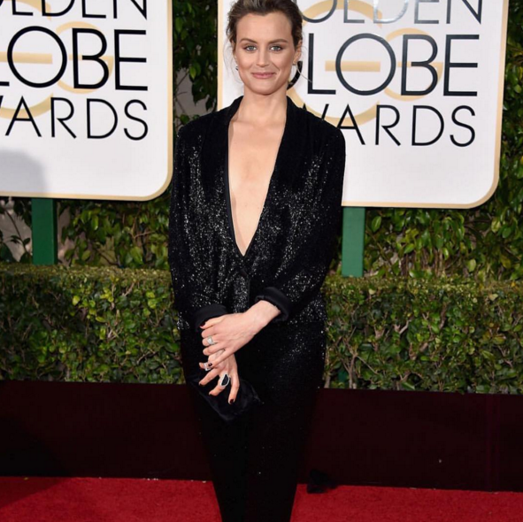 <p>Taylor Schilling stunned in Essie&rsquo;s Wicked.</p>