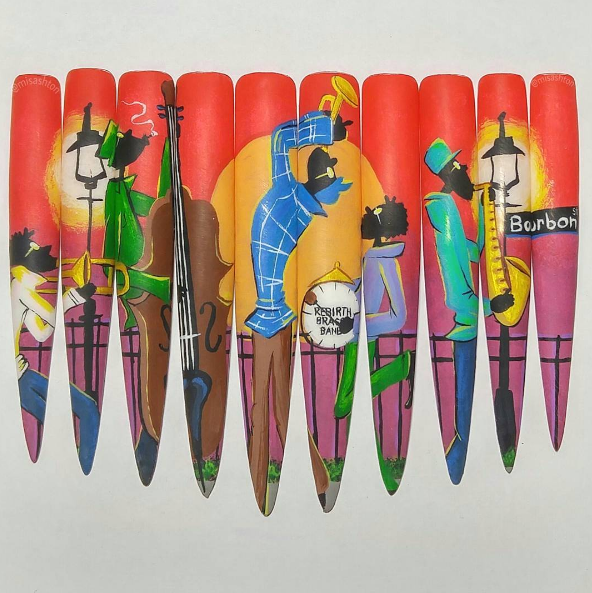 """<p>Week 9 (Paint the Town)</p> <p>Ashton Harlan, Henderson, Nev. <a href=""""https://www.instagram.com/misashton/"""">@misashton</a></p>"""