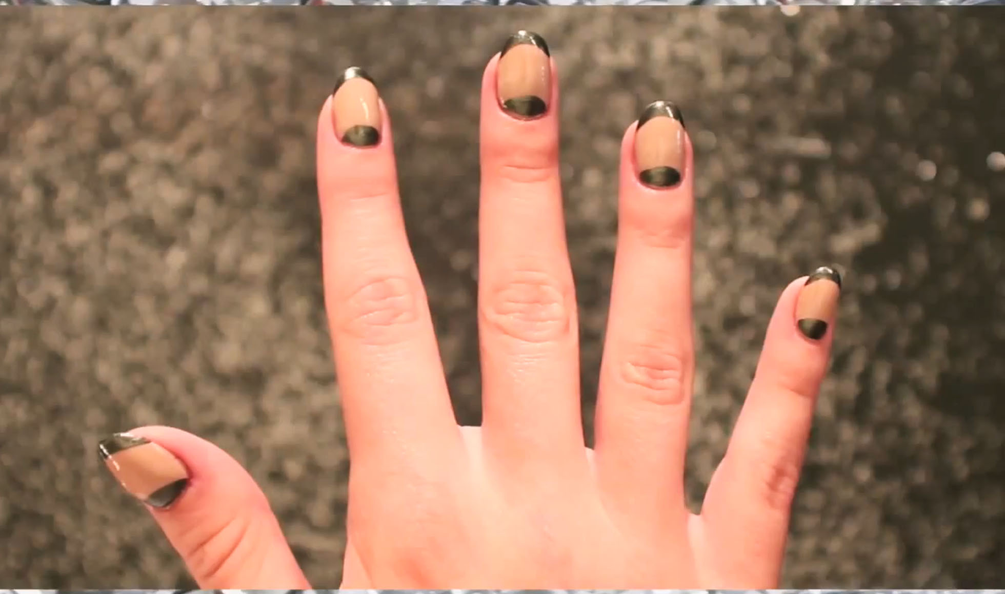 How to Make Half-Moon Nails